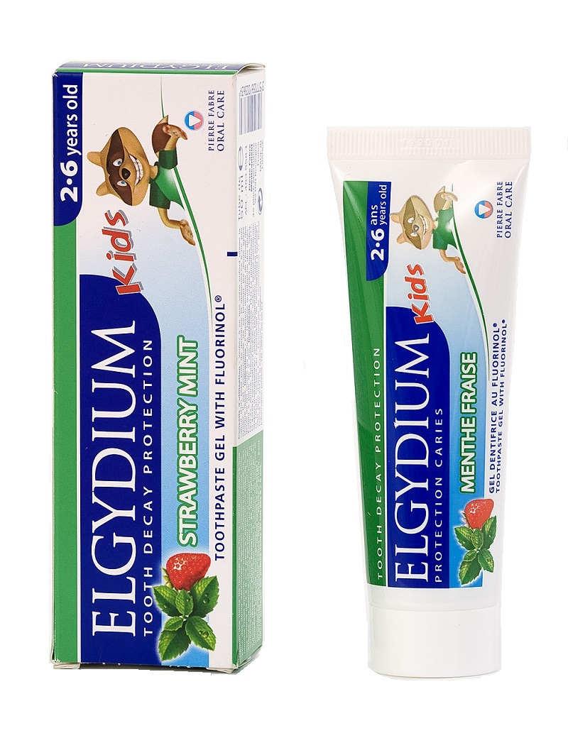 Elgydium Kids Miętowo-Truskawkowa Pasta do zębów 50 ml
