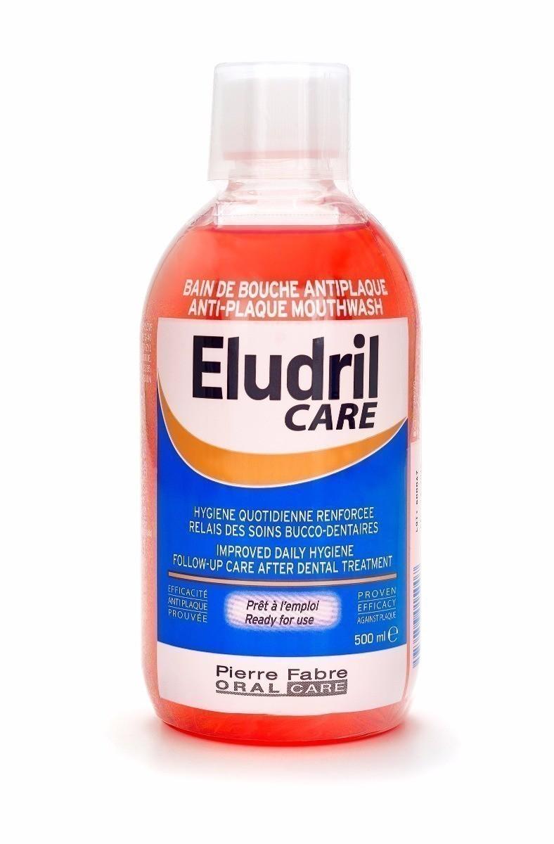 Elgydium Care Anti Plaque - antybakteryjny płyn do płukania jamy ustnej