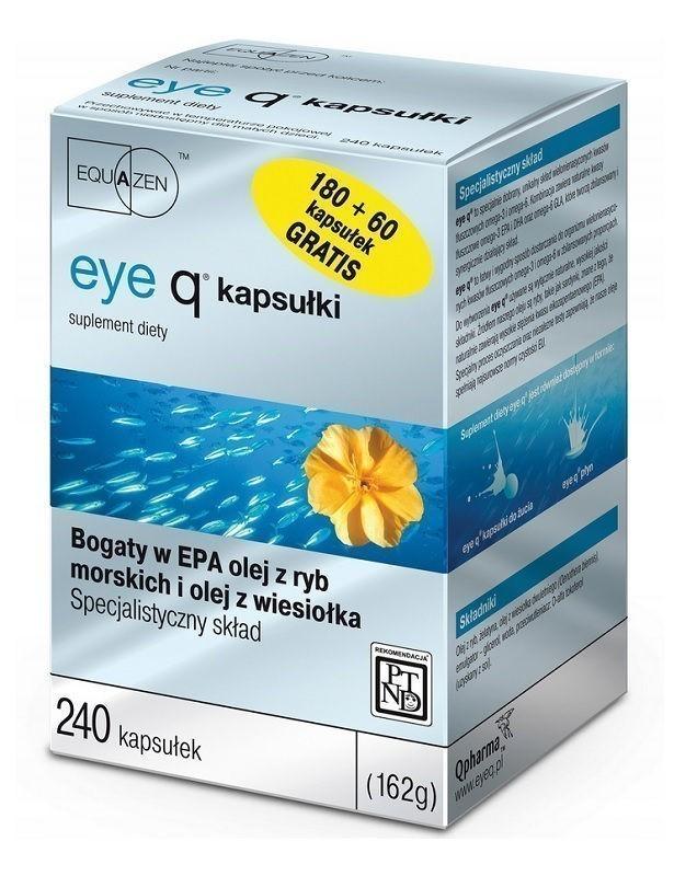 Eye Q 180 + 60 kapsułek Gratis