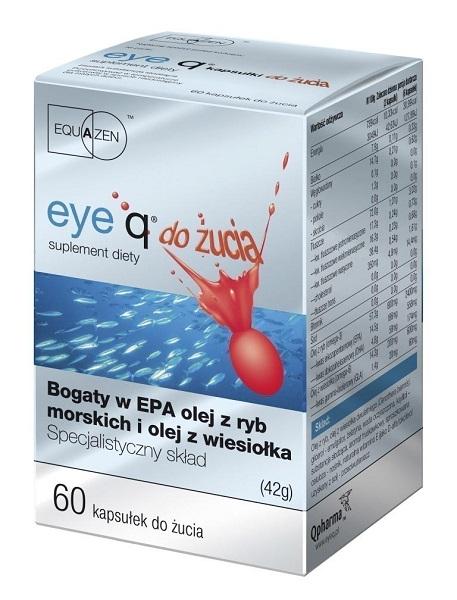 Eye Q kapsułki do żucia