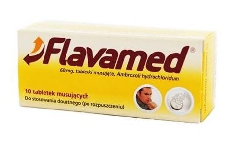 Flavamed 10 tabletek Musujących
