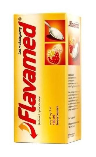 Flavamed 15mg/5ml Syrop 100 ml