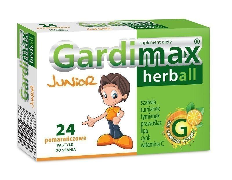 Gardimax Herball Junior 24 Pastylki