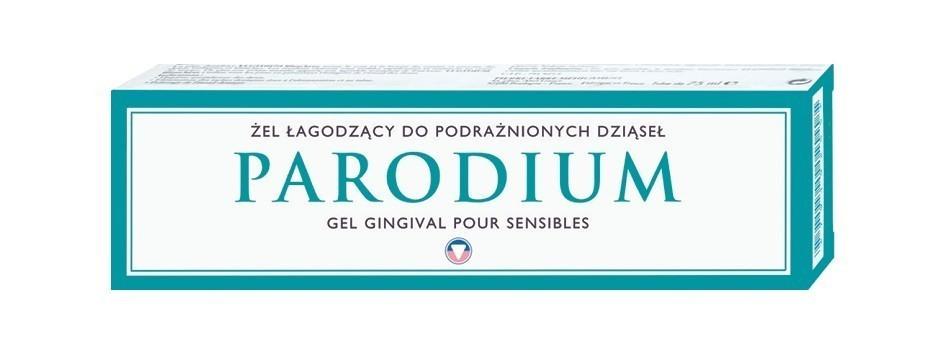 Parodium - żel łagodzący do wrażliwych dziąseł