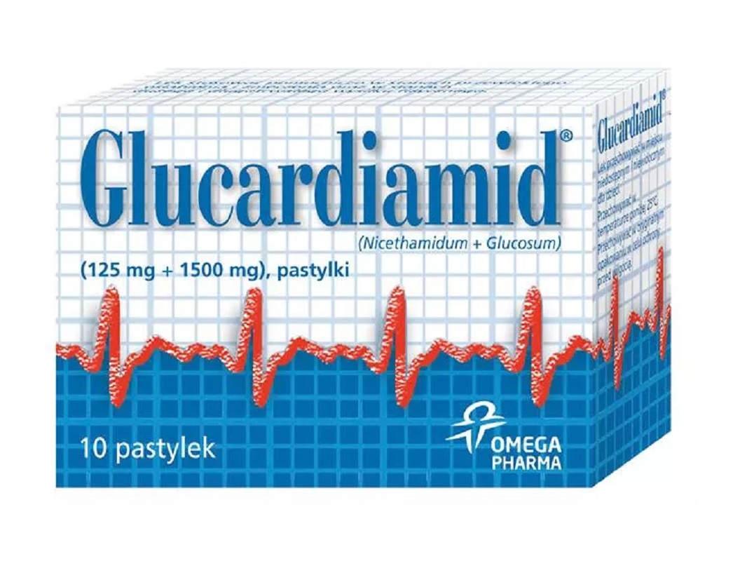 Glucardiamid 10 Pastylek
