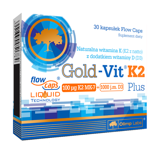 Olimp Gold-Vit K2 Plus 30 Kapsułek