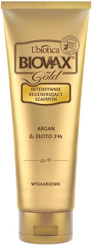 Biovax Gold Argan & Złoto 24K