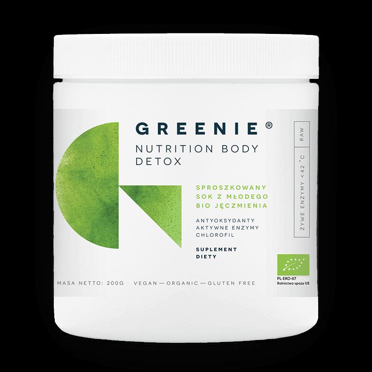 Greenie Sproszkowany Bio Sok z Młodego Jęczmienia 200 g