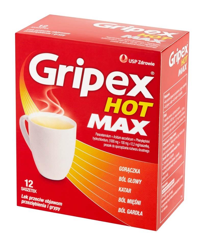 Gripex Hot Max Saszetki
