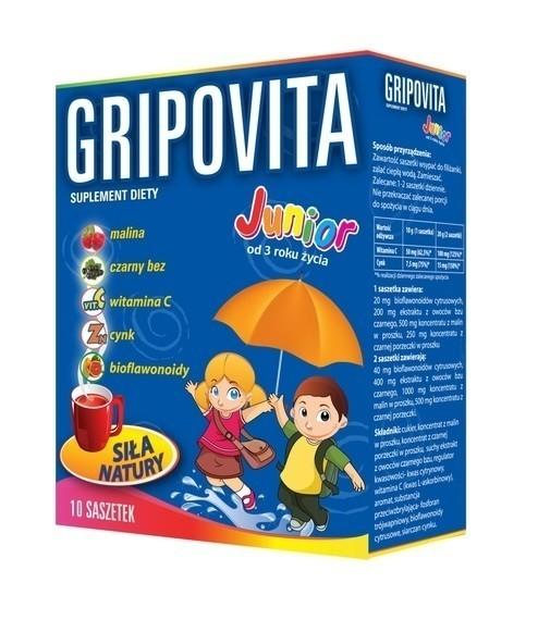 Gripovita Junior 10 Saszetek