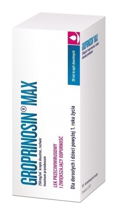 Groprinosin Max Krople 30 ml