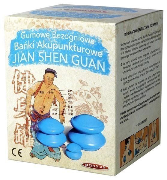 Gumowe Bańki Akupunkturowe JIAN SHEN GUAN