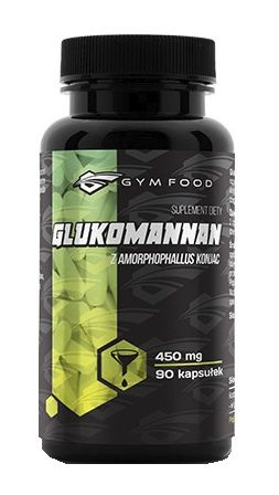 Gymfood Glukomannan 90 Kapsułek