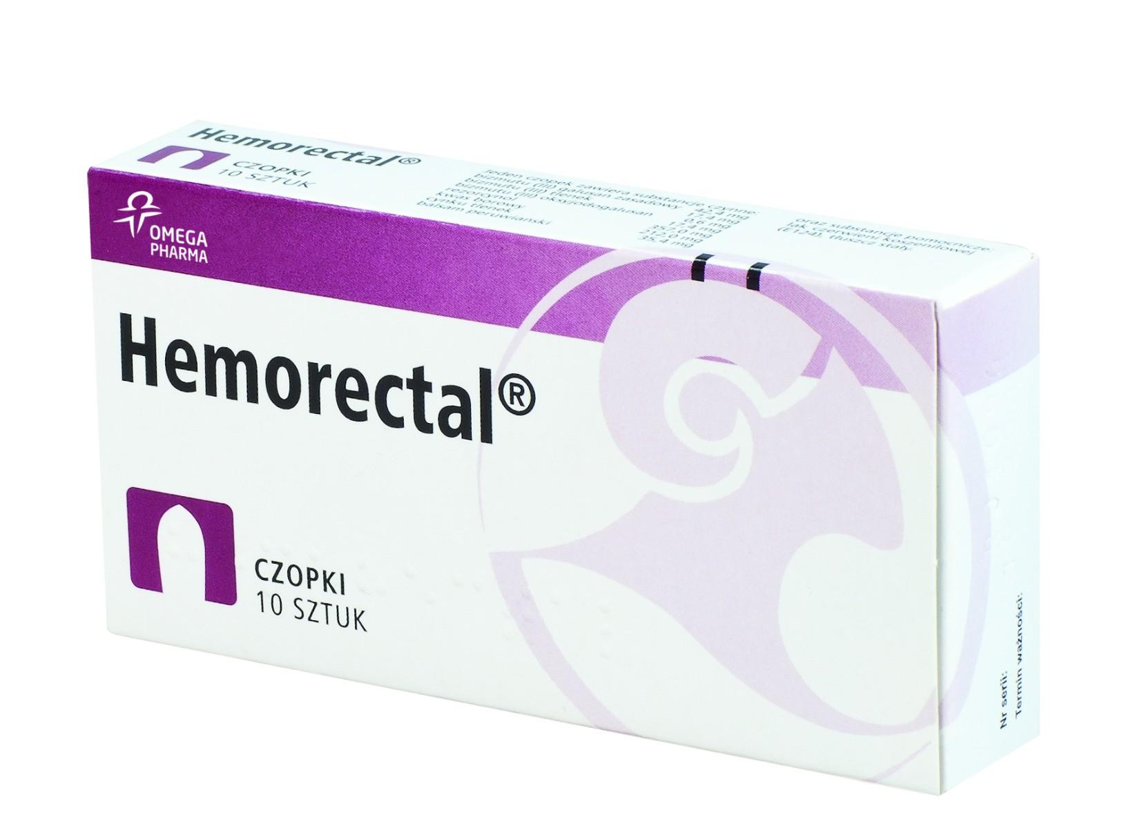 Hemorectal - czopki