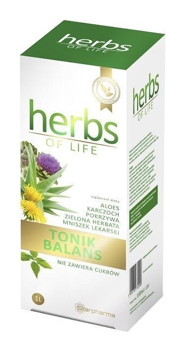 Herbs Of Life Tonik Balans 1000 ml