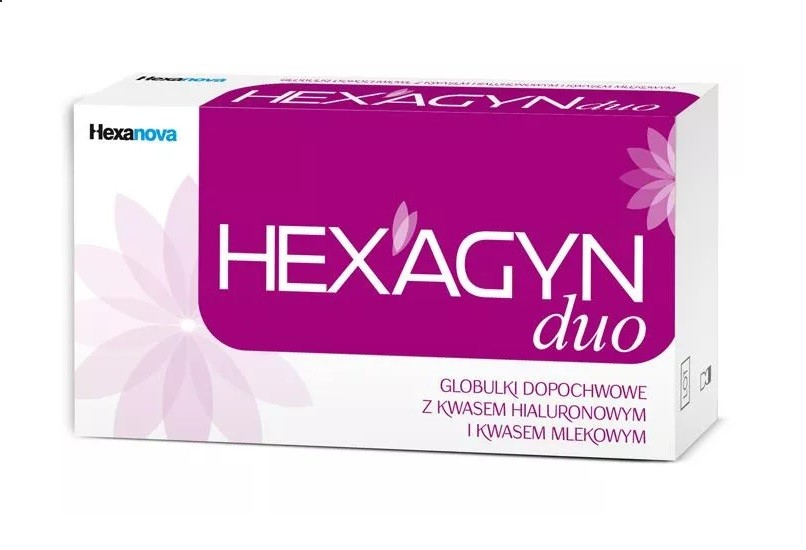 Hexagyn Duo 10 globulek dopochwowych