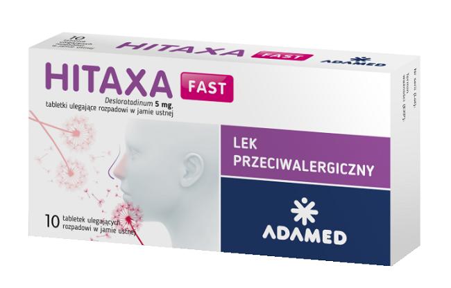 Hitaxa Fast 5 mg 10 Tabletek