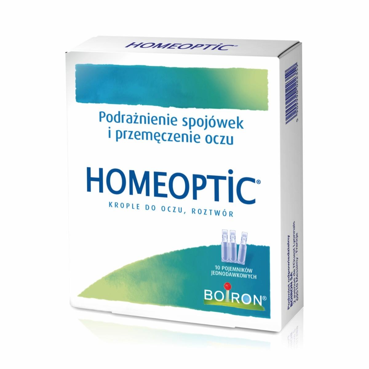 Homeoptic Krople do oczu 10x0,4 ml