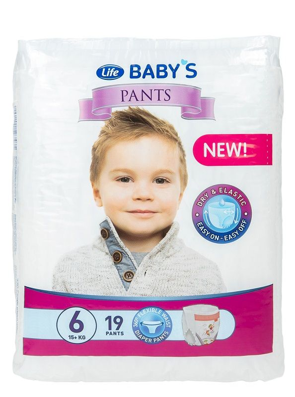 Life Baby`s Pants Extra Large 6
