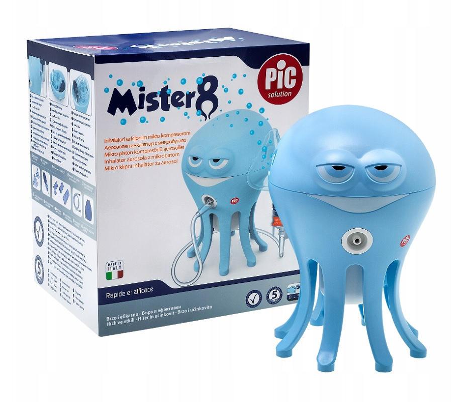 Inhalator mikrotłokowy dla dzieci Mister 8