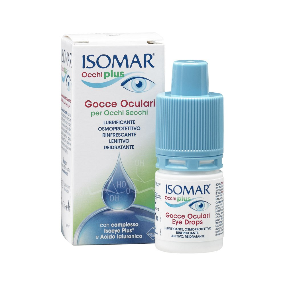Isomar Occhi Plus Krople do Suchych Oczu 10 ml