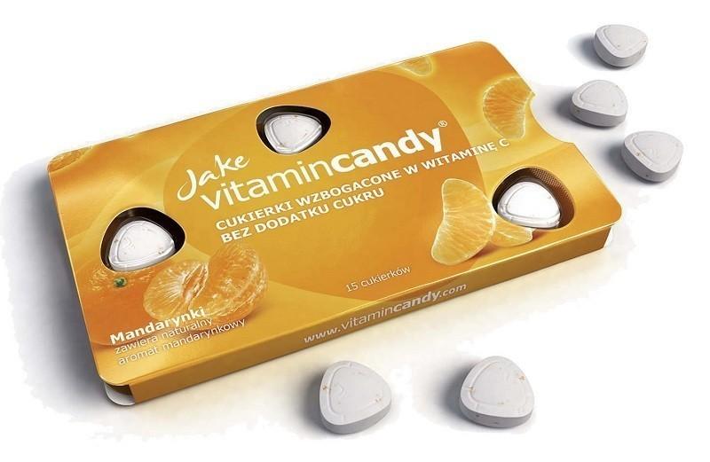 Jake Vitamin Candy Mandarynkowe z witaminą C