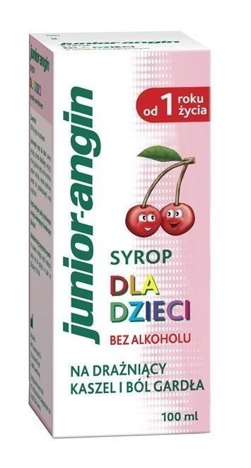 Junior-angin Syrop dla dzieci 100 ml