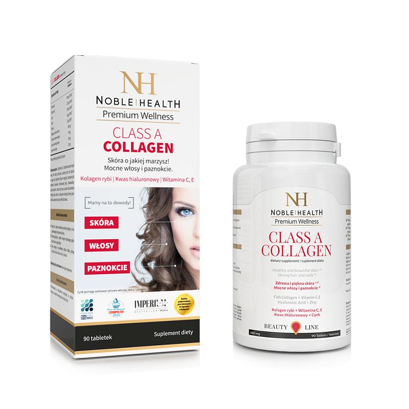 Noble Health Class a Collagen 90+ 30 Tabletek Gratis