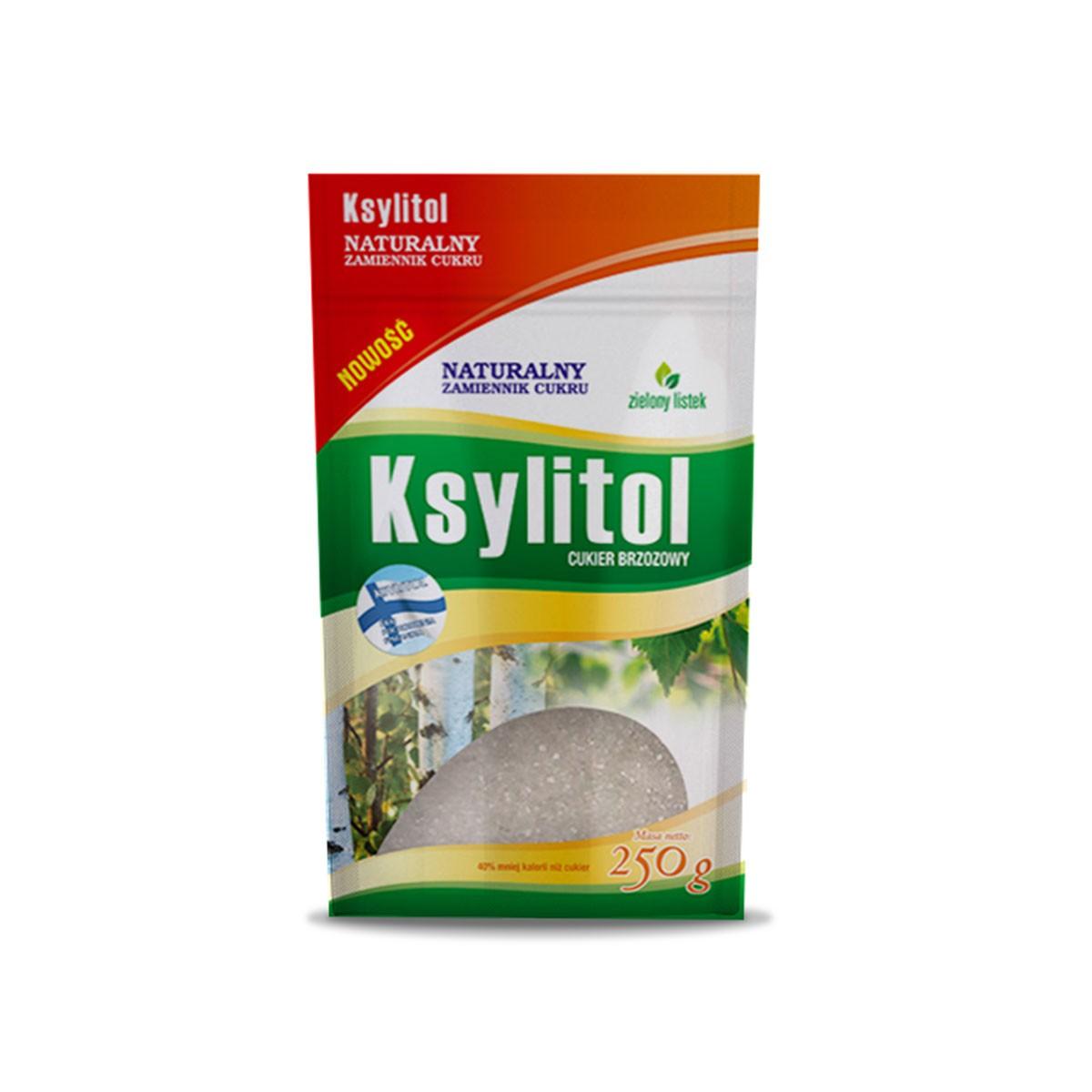 Zielony Listek Ksylitol brzozowy doypack 250g