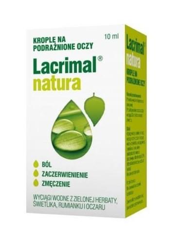 Lacrimal Natura Krople do Oczu 10 ml