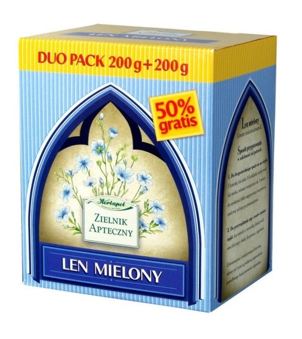 Len mielony DUO PACK 200+200