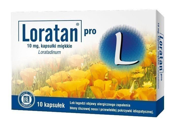 Loratan Pro 10 Kapsułek