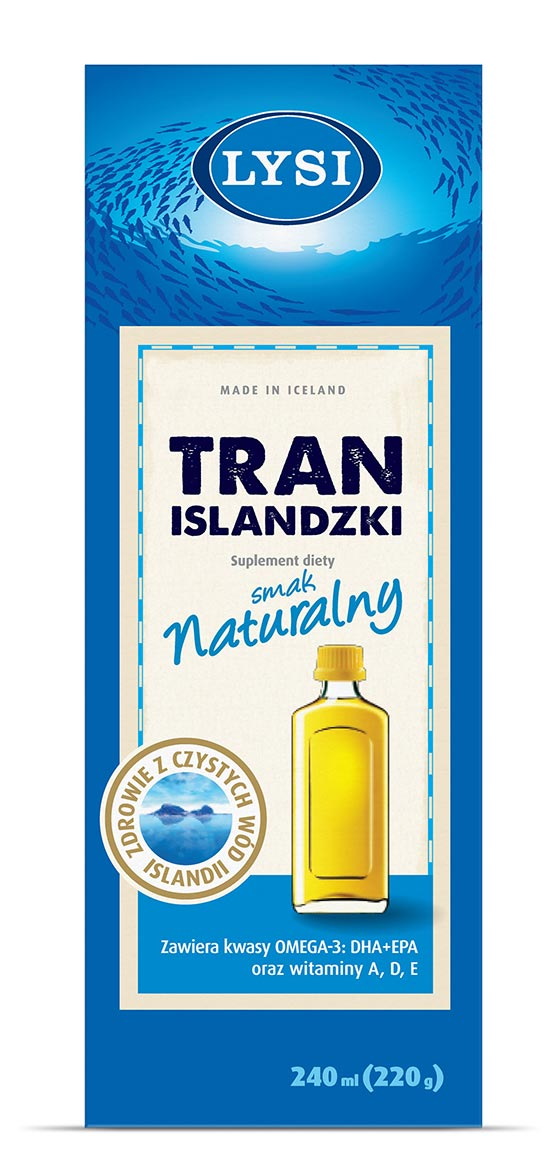 Lysi Tran Islandzki - smak naturalny