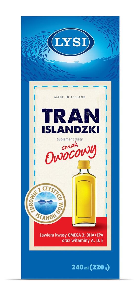 Lysi Tran Islandzki - smak owocowy