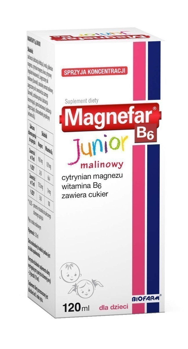 Magnefar B6 Junior120 ml
