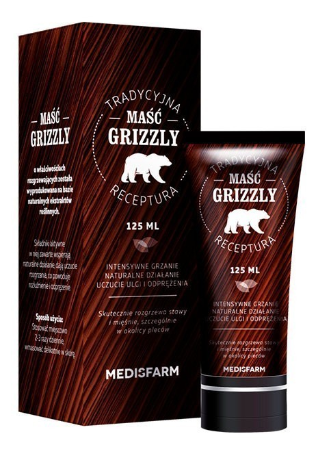 Maść Grizzly 125 ml