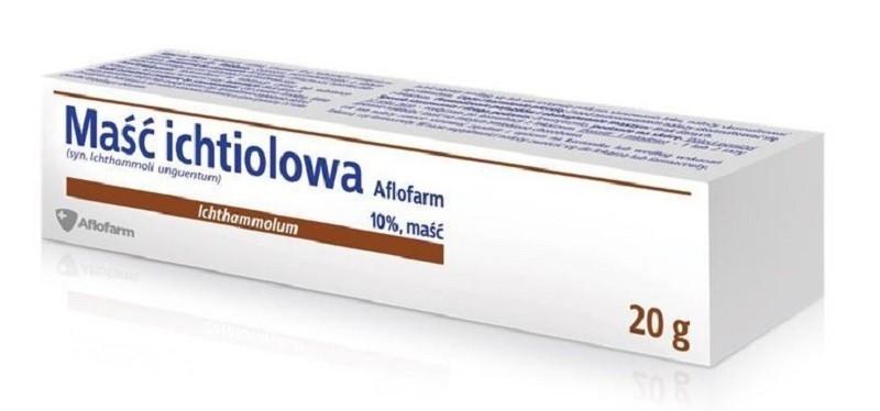 Maść Ichtiolowa Aflofarm 20 g