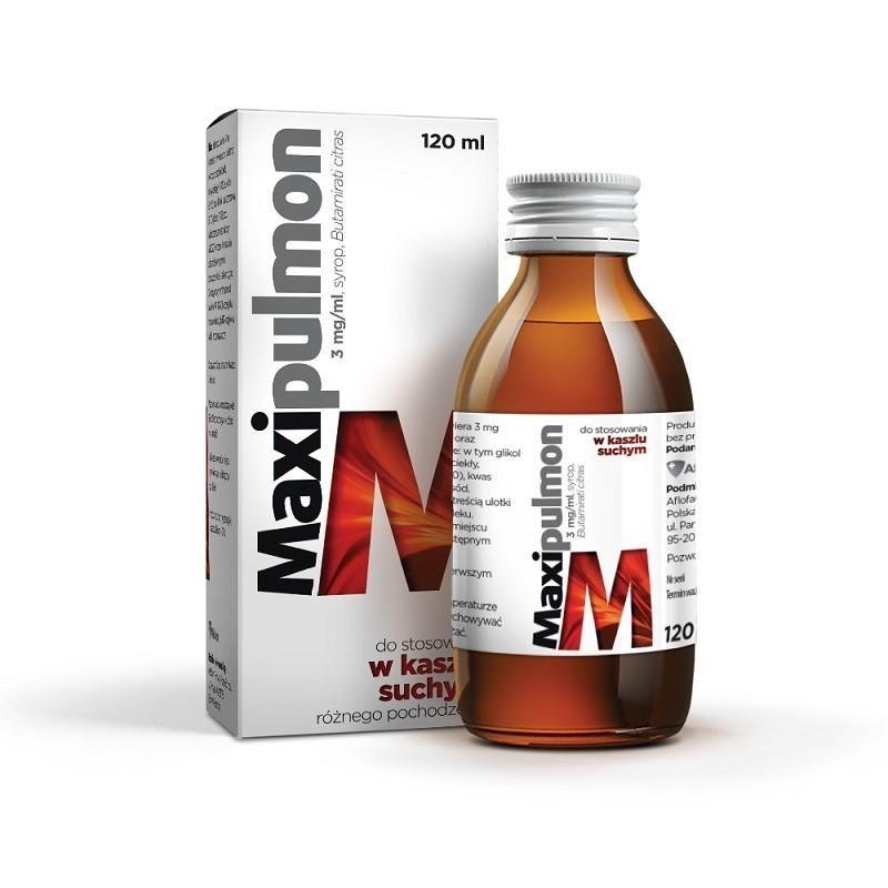 Maxipulmon Syrop 120 ml
