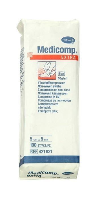 Medicomp Extra Kompresy niejałowe 5x5cm