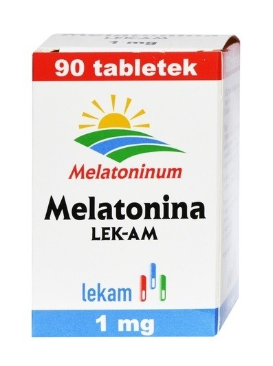 Melatonina LEK-AM 1 mg 90 Tabletek