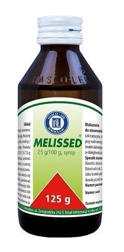 Melissed Syrop 125 g