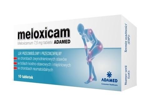 Meloxicam Adamed 10 Tabletek