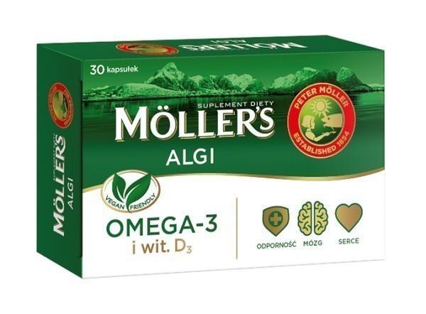 Mollers Algi 30 Kapsułek