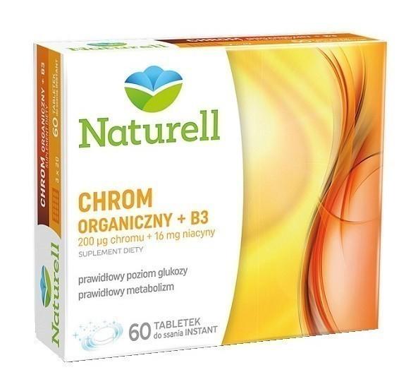Naturell Chrom Organiczny + Wit.B3