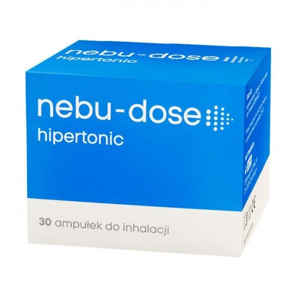 Nebu-Dose 3 % Roztwór Hipertoniczny do inhalacji 30 amp.