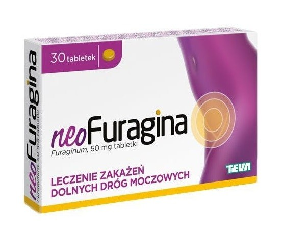 Neofuragina 50 mg 30 Tabletek