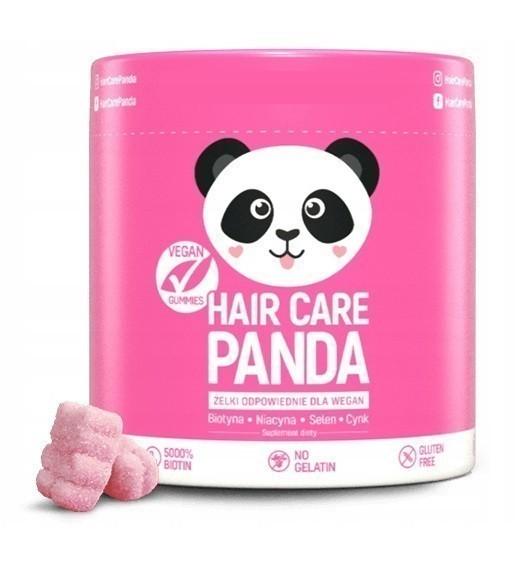 Noble Health Hair Panda Żelki 60 szt.