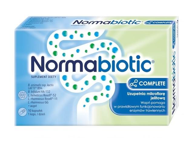 Normabiotic Complete 10 Kapsułek
