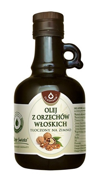 Olej Z Orzechów Włoskich 250 ml