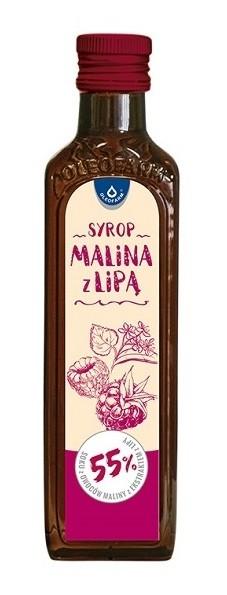 Oleofarm Syrop Malina z Lipą 250 ml